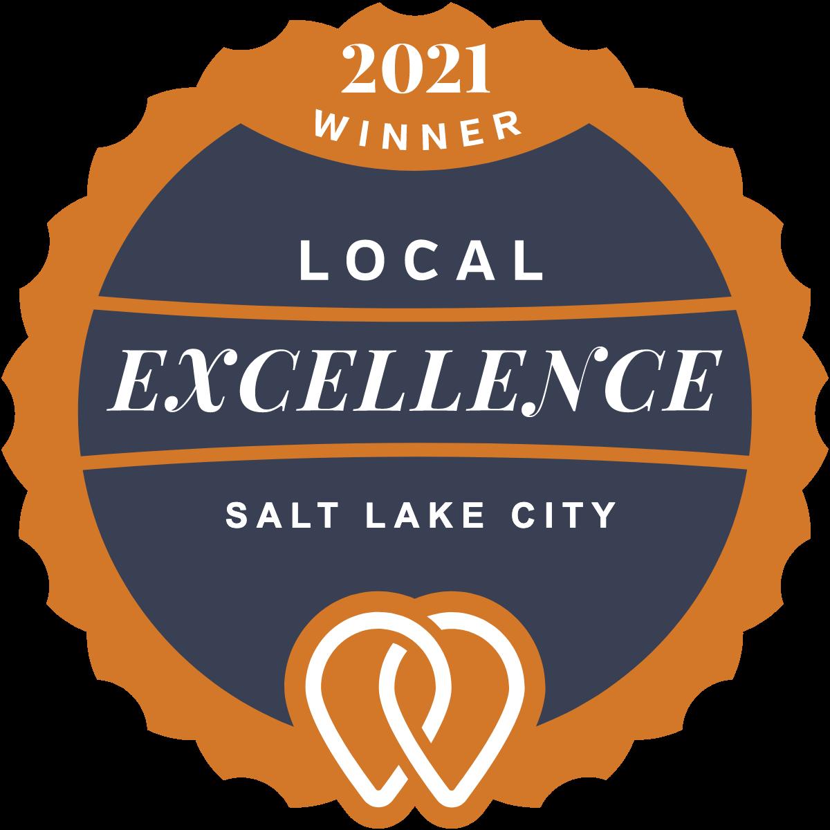 2021 Local Excellence Winner in Salt Lake City, UT